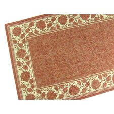Summer Vine Terracotta Indoor/Outdoor Rug