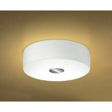 Bisquit 1 Light Flush Mount
