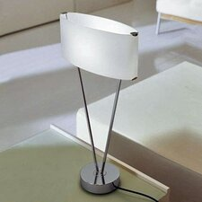 "Vittoria T1/C 24"" H Table Lamp with Oval Shade"