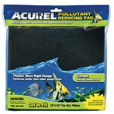 Carbon Infused Media Aquarium Pad