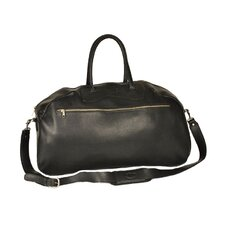 "<strong>Aston Leather</strong> 24"" Leather Gym Bag"