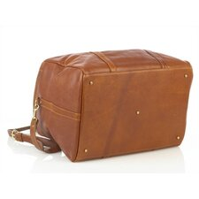 "16"" Leather Travel Duffel"