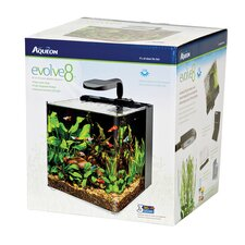 8 Gallon Evolve Aquarium Bowl kit