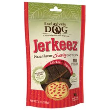 Jerkeez Chewy Pizza Dog Treat