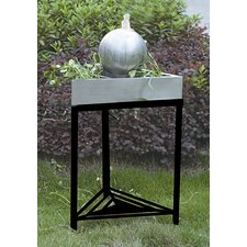 Triangular Tabletop Sphere Fountain with Legs
