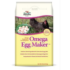 <strong>MANNA PRO-FARM</strong> Omega Egg Maker Supplement Laying Hens Treat - 5 lbs