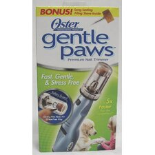 Gentle Paws Dog Nail Grinder in Blue