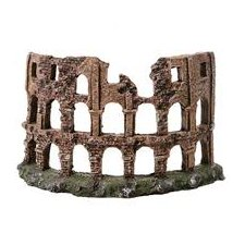Design Elements Roman Colosseum Ruins Aquarium Ornament