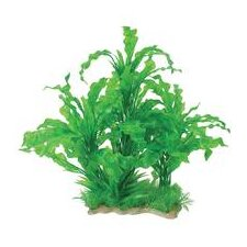 Natural Elements Aponogeton Combo Aquarium Ornament in Green