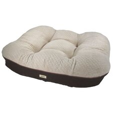 <strong>Worldwise, Inc</strong> Deluxe Dreamer Memory Foam Cushion Donut Dog Bed