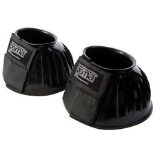 Roma PVC Ribbed Bell Boots Double Tape