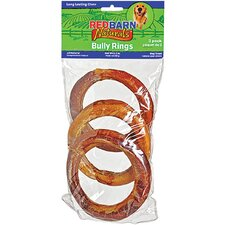Naturals Bully Rings Rawhide Dog Treat (3-Pack)