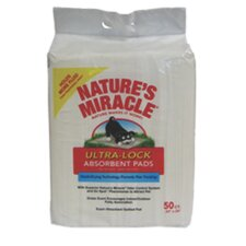 <strong>Nature's Miracle</strong> Lock Absorbent Dog Pad - 50 Count