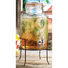 Country Chic Rosters 1.5 Gal Beverage Dispenser