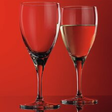 <strong>Home Essentials</strong> Red Series 9.5 oz. White Wine Glass (Set of 4)