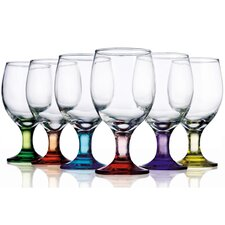 <strong>Home Essentials</strong> Carnival 12 oz. All Purpose Glass (Set of 6)