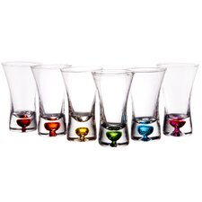 2.5 oz.. Flare Shot Glass (Set of 6)