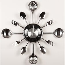 Utensil Wall Clock
