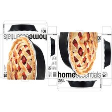 <strong>Home Essentials</strong> Embossed Ring Pie Plate