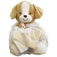 Toile Bag Puppy Toy and Blanket