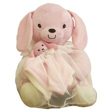 Toile Bag Bunny Toy and Blanket