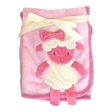 3D Sheep Crib Throw Blanket