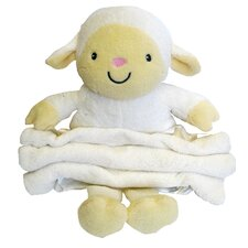 Buddy Lamb Crib Throw Blanket