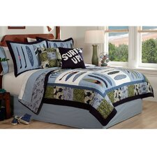 <strong>My World</strong> Catch a Wave Quilt Set