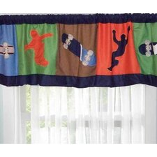 <strong>My World</strong> Cool Skate Curtain Valance