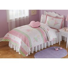 Fairy Balleris Quilt with Pillow Sham