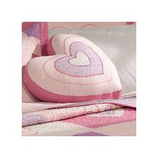 <strong>My World</strong> Spring Hearts Pillow