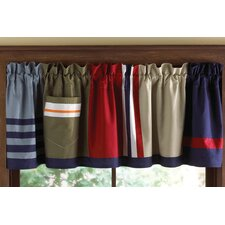 <strong>My World</strong> Ronnie Patchworks Cotton Curtain Valance