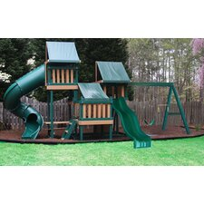 <strong>Kidwise</strong> Congo Monkey Green and Cedar Playsystem 4