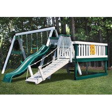 Congo Swing and Monkey 3 Position Swing Set