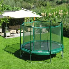 <strong>Kidwise</strong> 12 ft. Round Trampoline with Enclosure