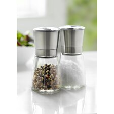 Mill Salt and Pepper Grinder Set
