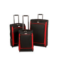 <strong>Swiss Legend</strong> 3 Pieces Expandable Wheeled Luggage Set