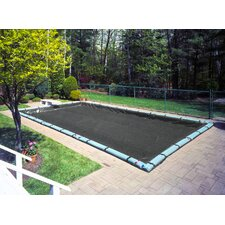 Mesh Winter Pool Cover with Complete Water Tube Kit