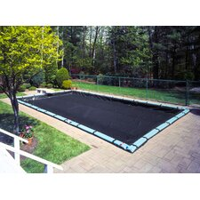 Winterguard Rectangle Winter Pool Cover with Water Tube Kit