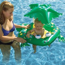 Learn-to-Swim Frog Seat Pool Tube