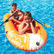 <strong>Poolmaster</strong> Islander II Inflatable Floating Two Person Boat