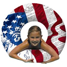 Flag Print Water Pool Tube