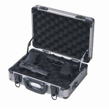 Two Pistol Aluminum Range Case