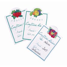 Learning 'Fraise' Jam Labels (Set of 30)