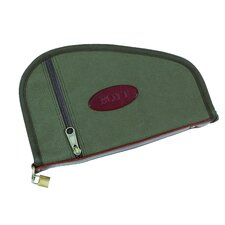 Canvas Handgun Case with Accessory Pockets