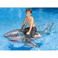 Ride-On Shark Pool Toy