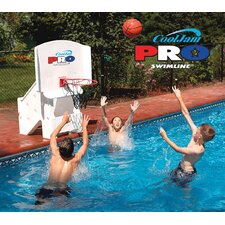 <strong>Swimline</strong> Cool Jam Pro Poolside Basketball in White