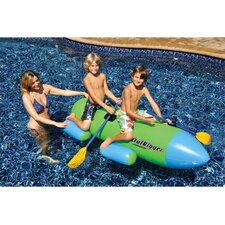 <strong>Swimline</strong> Outrigger Inflatable Ride On Pool Toy
