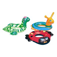 Animal Head Ring Pool Tube