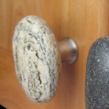 Serena Stone Cabinet Knobs in Natural
